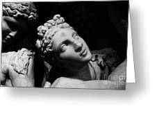 Greek Maiden Greeting Card
