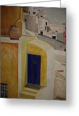 Greekscape 2 Greeting Card