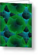 Green Arhitecture Greeting Card
