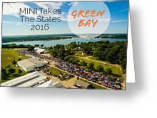 Green Bay Rise/shine 2 W/text Greeting Card