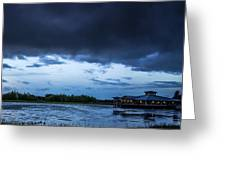 Green Cay Storm 6 Greeting Card