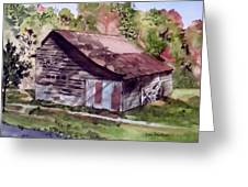 Green Creek Barn Greeting Card