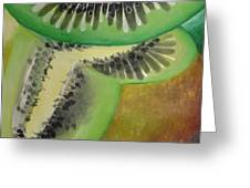 Green Ecstasy 1 Greeting Card