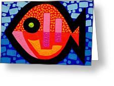 Green Eyed Fish  Greeting Card