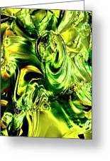 Green Glass Greeting Card