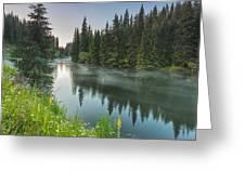 Green Lake Greeting Card