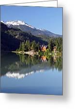 Green Lake Whistler  Greeting Card