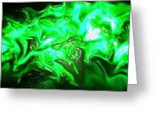 Green Lantern Greeting Card