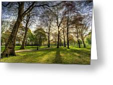 Green Park London Greeting Card
