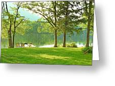 Green Peace Greeting Card
