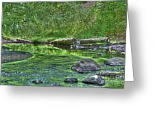Green River Bend Greeting Card