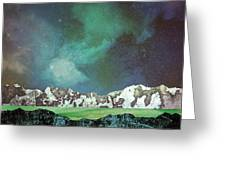 Green Space Greeting Card
