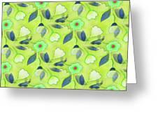 Green Tea Greeting Card