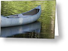 Green Water Greeting Card