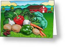 Greenbank Bounty Greeting Card by Stacey Neumiller