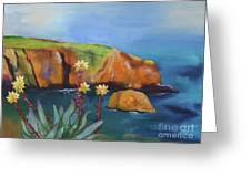 Greene's Live-forever On Santa Cruz Island Greeting Card