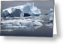 Greenland's Icebergs Greeting Card