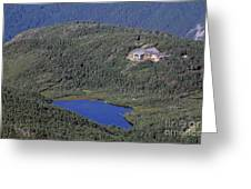 Greenleaf Hut - White Mountains New Hampshire  Greeting Card by Erin Paul Donovan