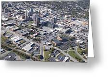Greensboro Aerial Greeting Card