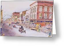 Greensboro Christmas Parade 1960 Greeting Card