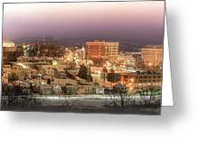 Greensburg Pano Greeting Card
