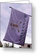 Greenwich Flag Greeting Card