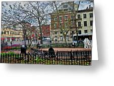 Greenwich Village New York City Greeting Card