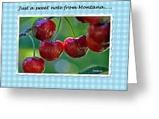 Greeting Card - Cherries #1 Greeting Card
