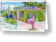 Greetings From Matlacha Island  Florida Greeting Card