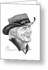 Greg Norman Greeting Card