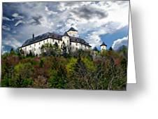 Greifenstein Castle Greeting Card