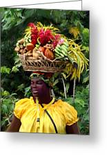 Grenadian Woman Greeting Card