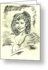 Greta  Maria Greeting Card