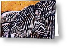 Grevy Colt Greeting Card by Dy Witt