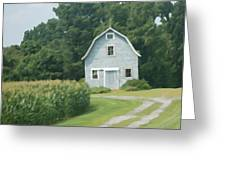 Grey Farmhouse - Northern Neck Greeting Card