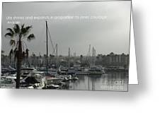 Grey Harbor Greeting Card