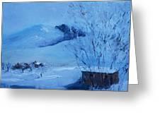 Greyson Creek View Greeting Card