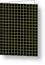 Grid Boxes In Black 18-p0171 Greeting Card