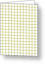 Grid Boxes In White 18-p0171 Greeting Card