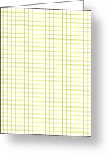 Grid Boxes In White 30-p0171 Greeting Card