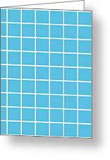 Grid In White 09-p0171 Greeting Card