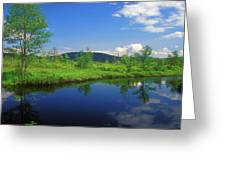 Gridley River Wapack Mountains Greeting Card
