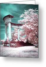 Grieving Columns Greeting Card