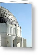 Griffith Observatory 0803 Greeting Card
