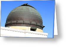 Griffith Observatory 0811 Greeting Card