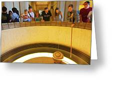 Griffith Observatory - Foucault Pendulum Greeting Card
