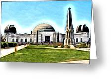 Griffith Observatory, Los Angeles, California Greeting Card