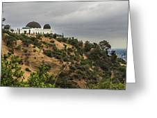 Griffith Park Observatory Greeting Card