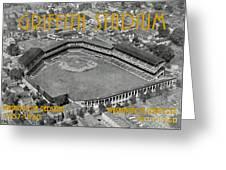 Griffith Stadium Greeting Card