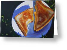 Grilled Cheese Picnic Greeting Card